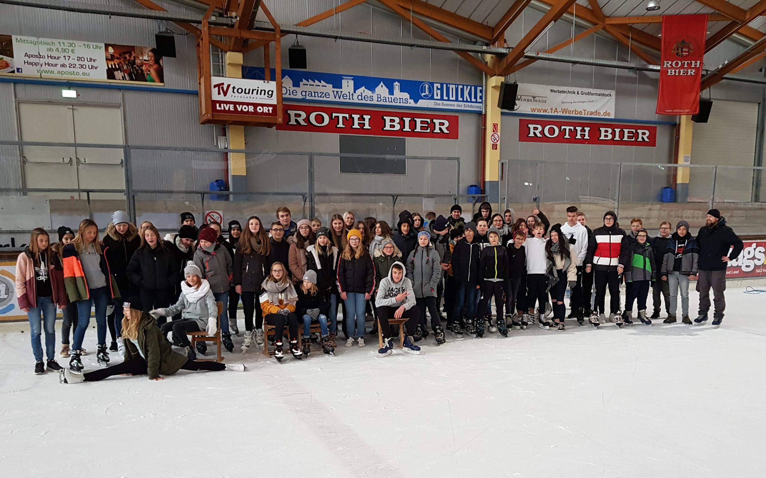 Gruppenbild Eislauftag2